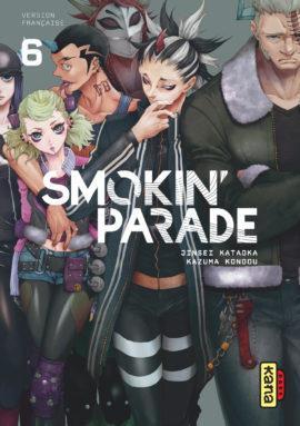 SMOKIN' PARADE, TOME 6 JINSEI KATAOKA