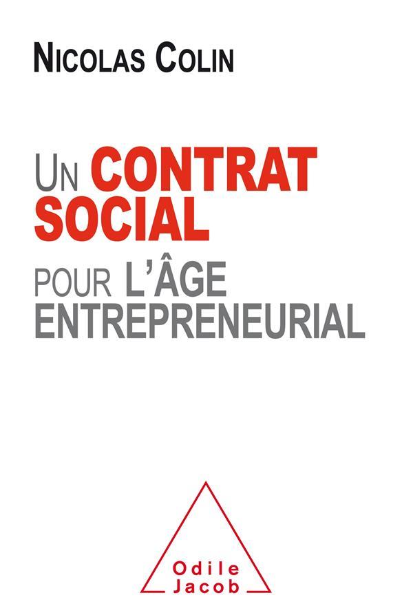 UN CONTRAT SOCIAL POUR L'AGE ENTREPRENEURIAL