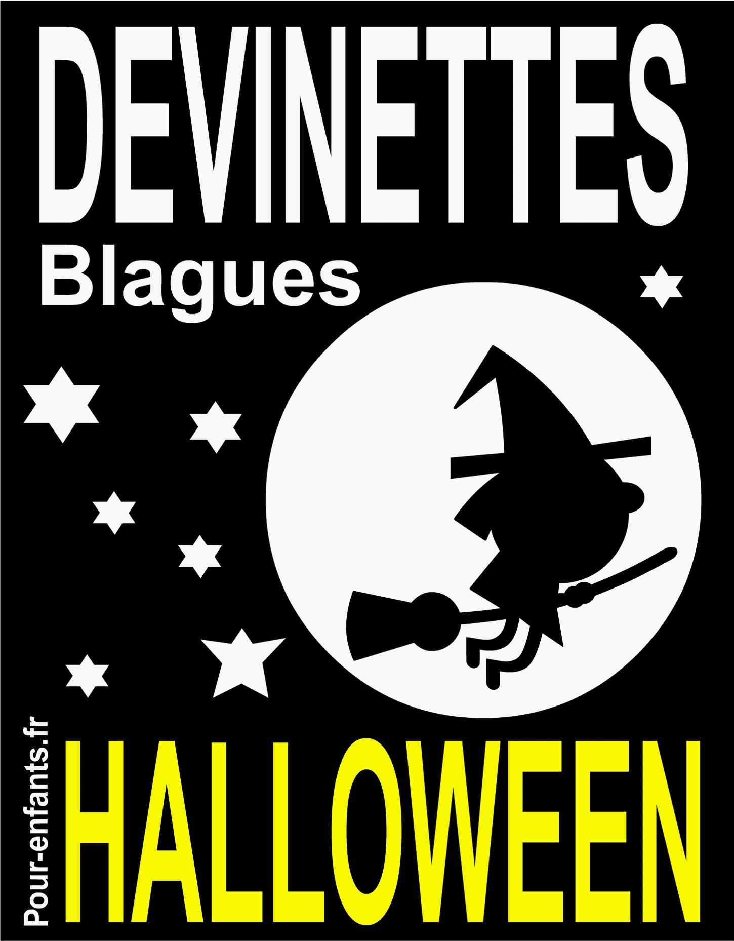 Devinettes, blagues ; Halloween