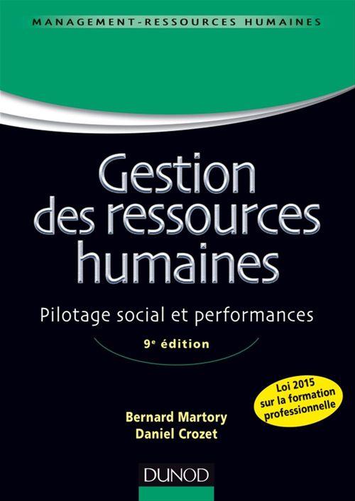 Gestion des ressources humaines - 9e éd.