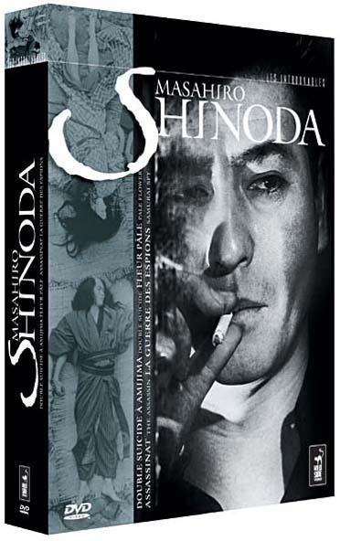 Coffret Masahiro Shinoda : assassinat ; fleur pale ; la guerre des espions ; double suicide