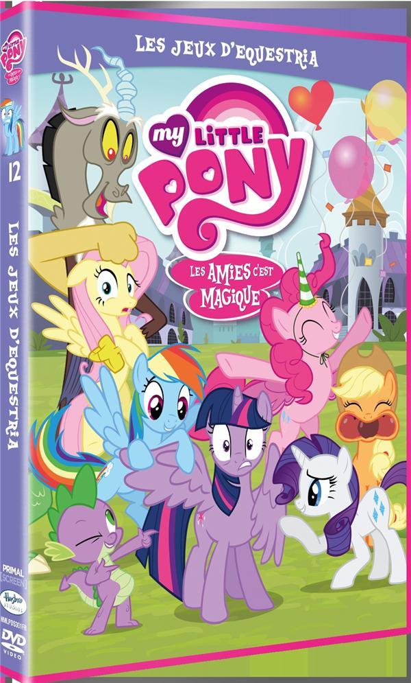 My Little Pony : Les amies c'est magique ! - Saison 3, Vol. 12 : Les Jeux d'Equestria