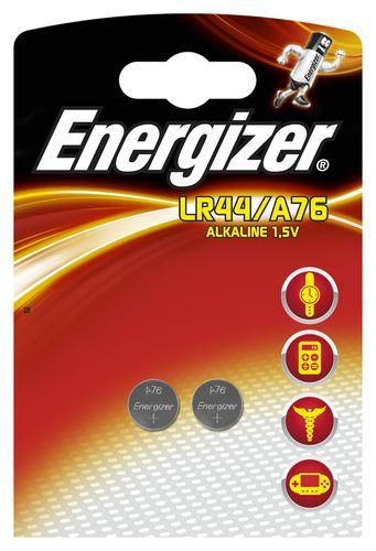 ENERGIZER LITHIUM LR44/A76 PACK DE 2