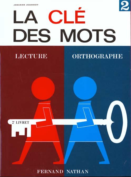 La Cle Des Mots Cp 2eme Livret Rouge Eleve