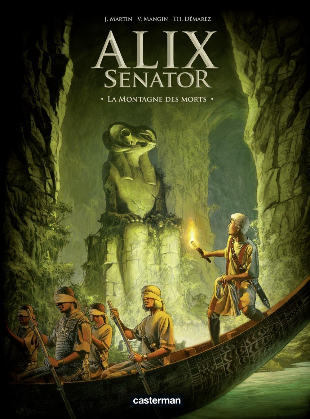 Alix Senator T.6 ; la montagne des morts