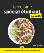 Vente Livre Numérique : Je cuisine spécial étudiant pour les Nuls  - Emilie LARAISON