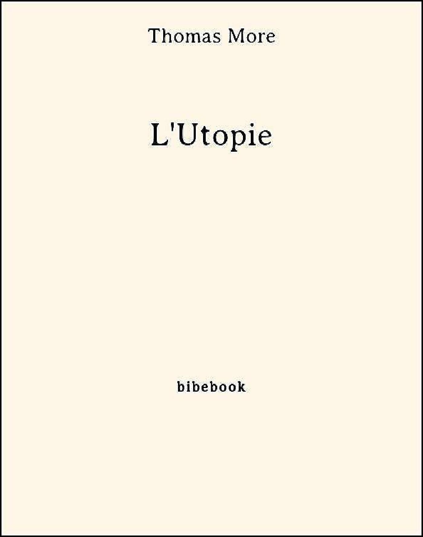 L'Utopie