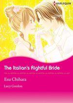 Vente Livre Numérique : Harlequin Comics: The Italian's Rightful Bride  - Lucy Gordon - Esu Chihara