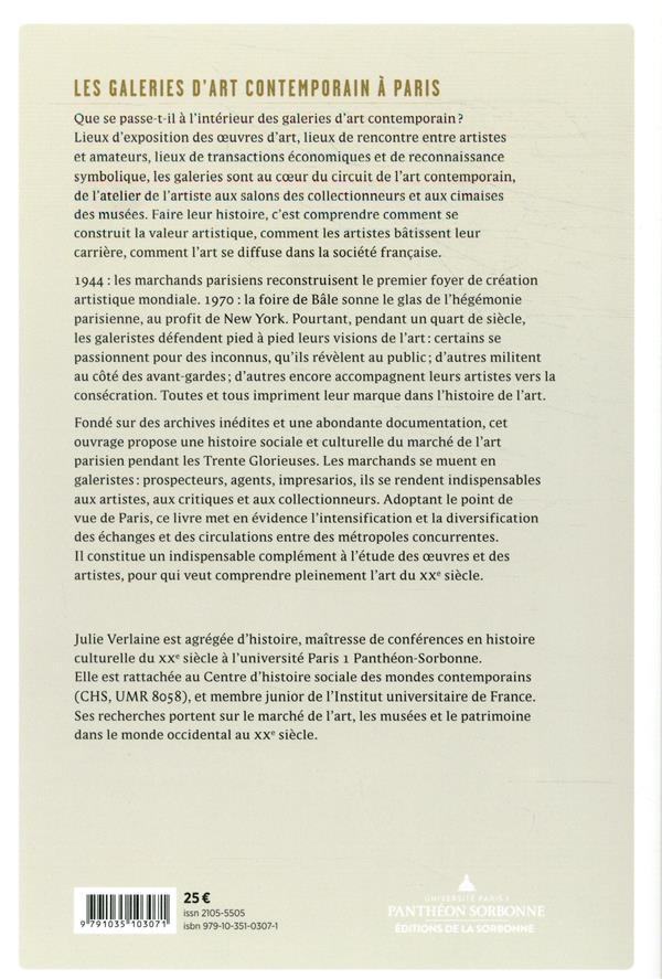 Les galeries d'art contemporain à Paris (2e édition)