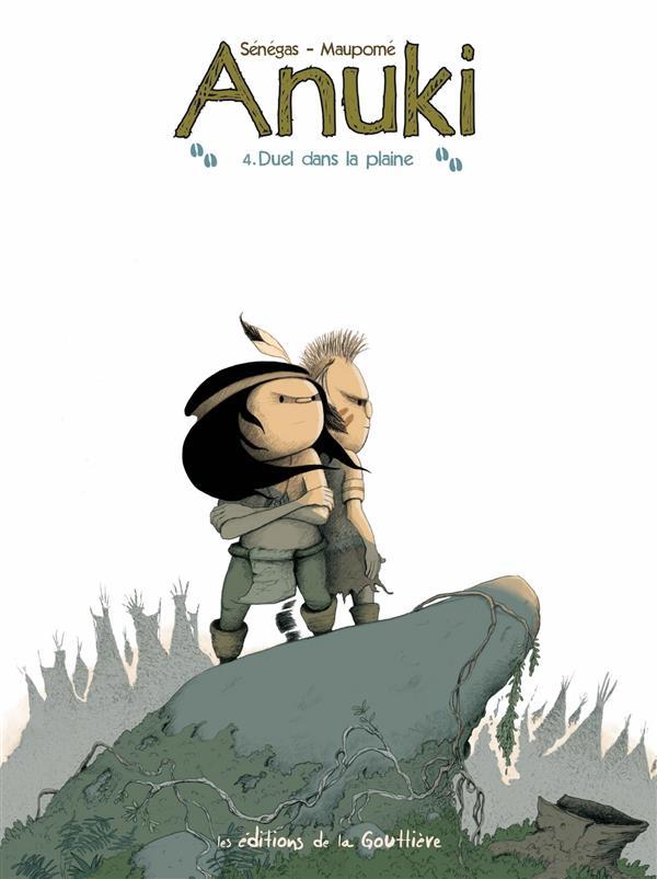 Anuki t.4 ; duel dans la plaine