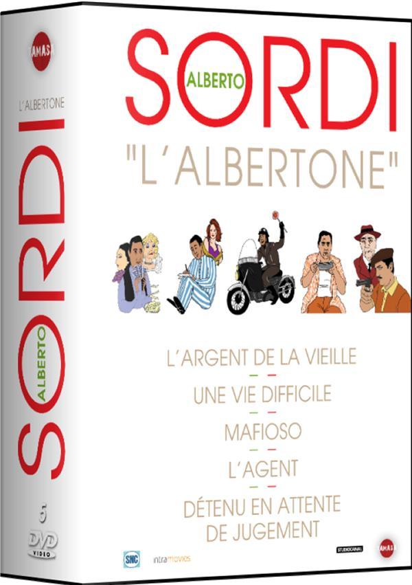 Alberto Sordi : L'argent de la vieille + Une vie difficile + Mafioso + L'agent + Détenu en attente de jugement