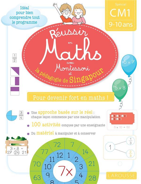 Réussir en maths avec Singapour ; CM1