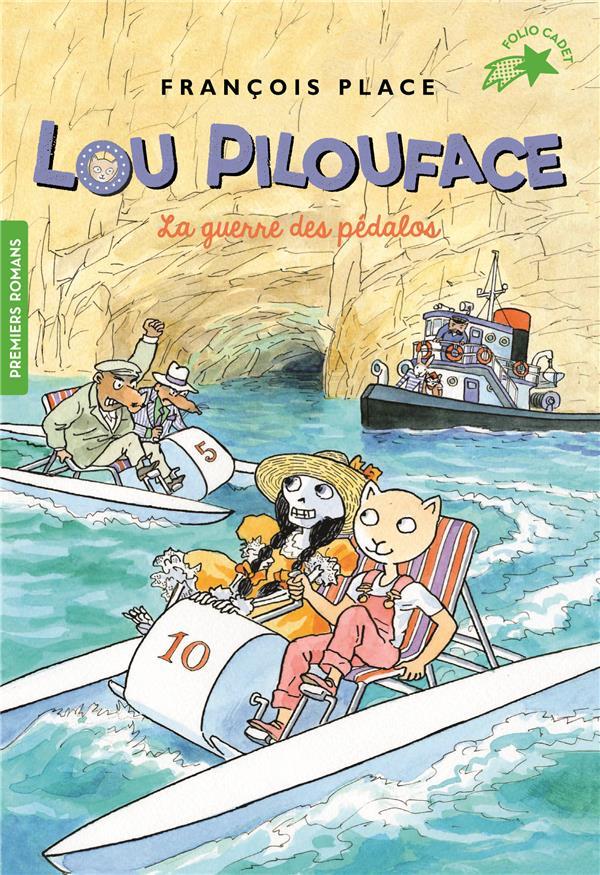 Lou Pilouface T.9 ; la guerre des pédalos