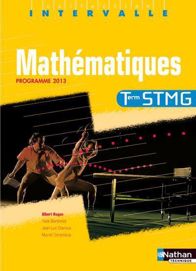 INTERVALLE ; mathématiques ; terminale STMG ; programme 2013