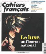Vente Livre Numérique : Cahiers français : Le luxe, un fleuron national - n°410  - La Documentation française - Comité stratégique de la filière