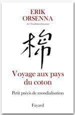 Vente Livre Numérique : Voyage aux pays du coton  - Erik Orsenna