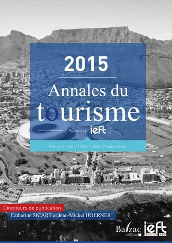 2015 annales du tourisme
