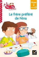 Vente Livre Numérique : Le frère préféré de Nina  - Marie-Hélène Van Tilbeurgh - Isabelle Chavigny