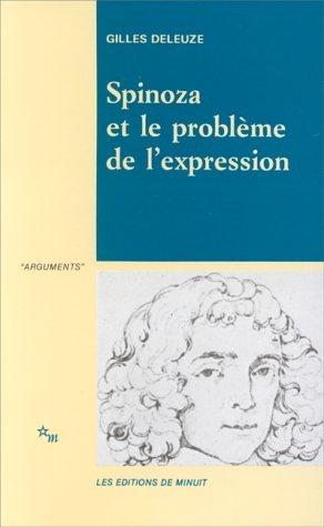 Spinoza et le probleme de l expression