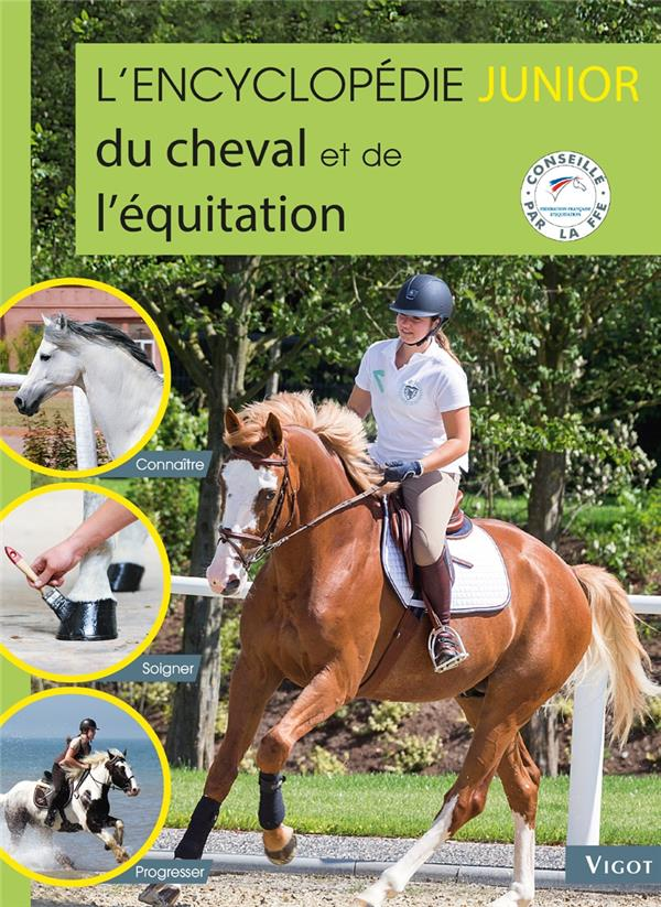L'encyclopédie junior du cheval et de l'équitation
