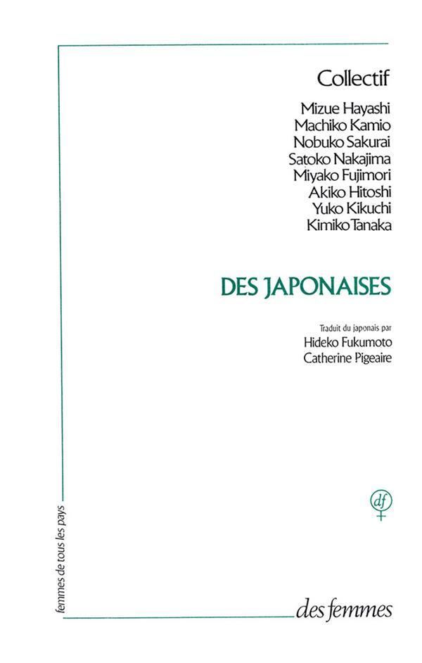 Des japonaises