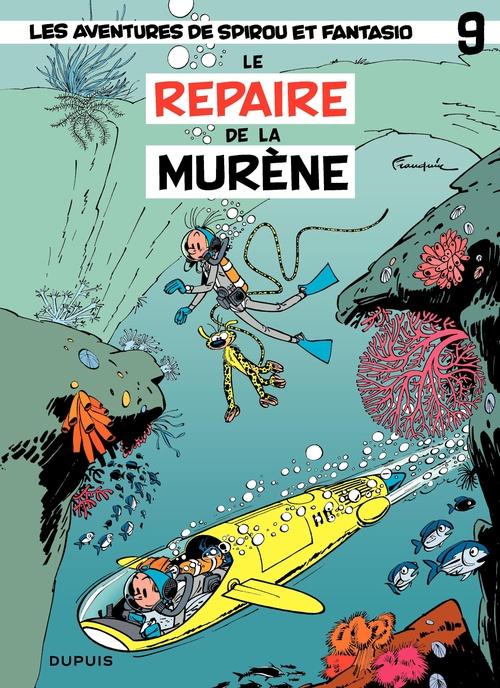 Les aventures de Spirou et Fantasio T.9 ; le repaire de la murène
