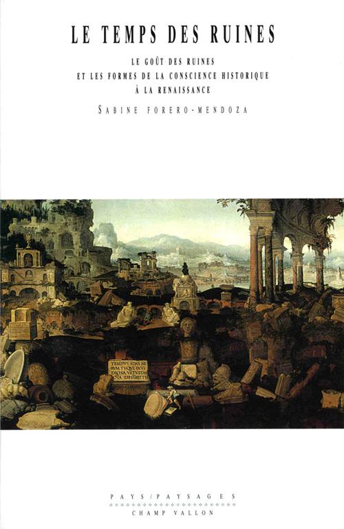Le temps des ruines ; le goût des ruines et les formes de la conscience historique à la Renaissance