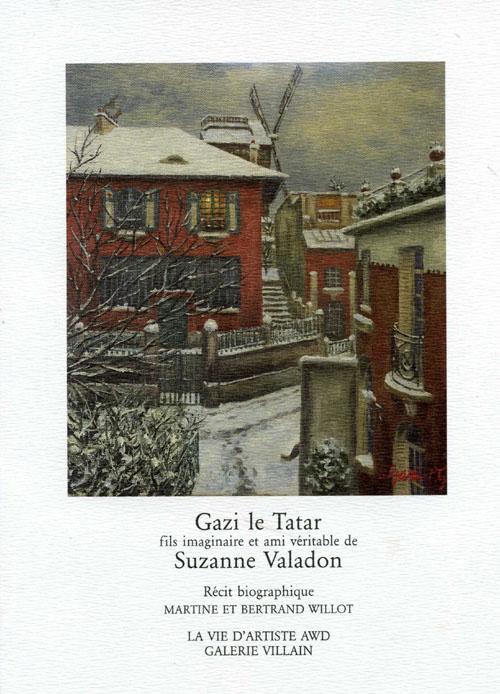 Gazi le tatar fils imaginaire et ami véritable de Suzanne Valadon