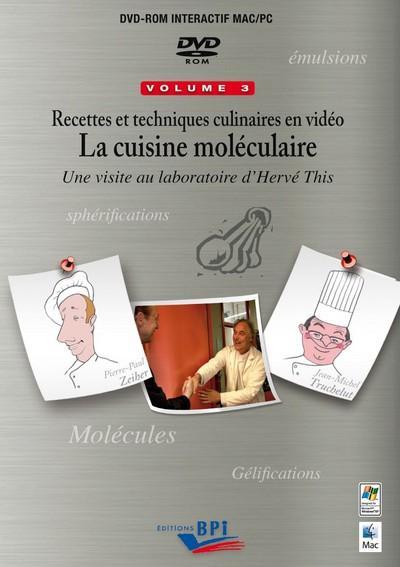 Recettes en video 3 - la cuisine moleculaire une visite au laboratoire d'herve this