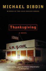Vente Livre Numérique : Thanksgiving  - Michael Dibdin