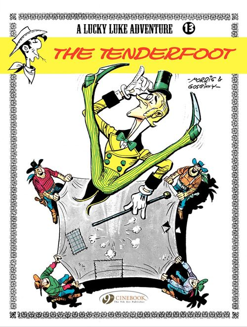 Lucky Luke T.13 ; the tenderfoot