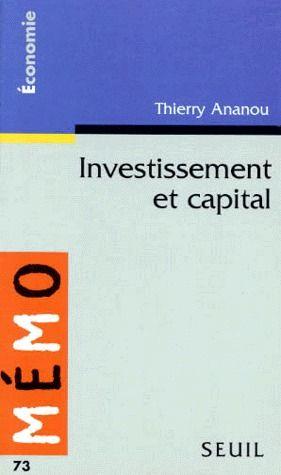 Investissement Et Capital