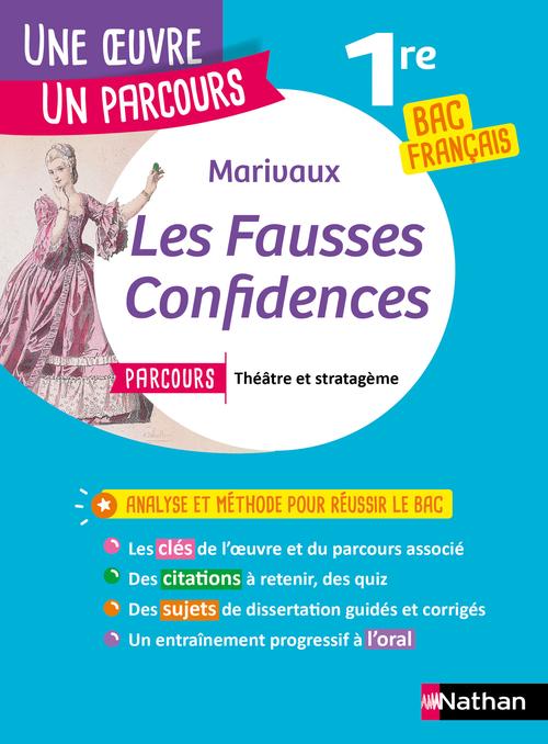 Les fausses confidences ; 1re (édition 2020)