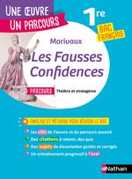 Vente EBooks : Analyse et étude de l'oeuvre - Les Fausses Confidences de Marivaux - Réussir son BAC Français 1re 2021 - Parcours associé Théâtr  - MARIVAUX