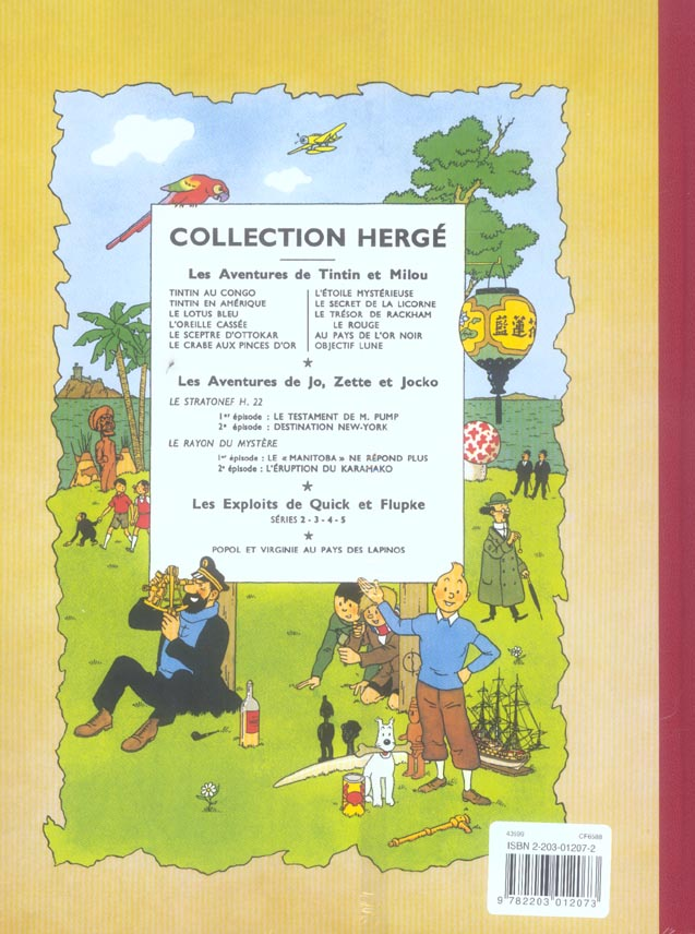 Les aventures de Tintin T.16 ; objectif lune