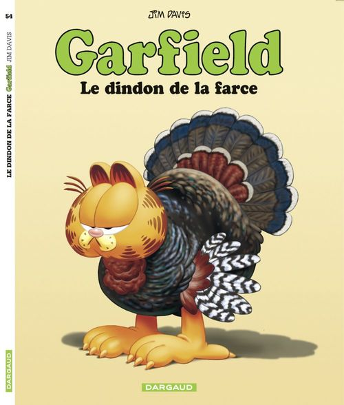 Garfield T.54 ; le dindon de la farce