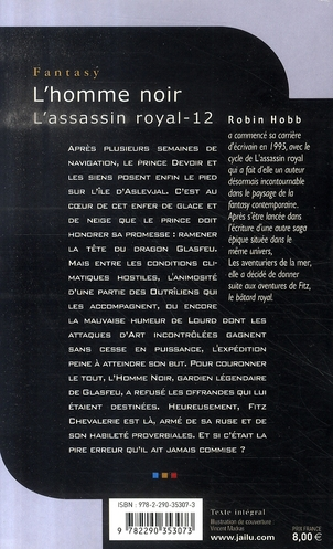 L'assassin royal T.12 ; l'homme noir