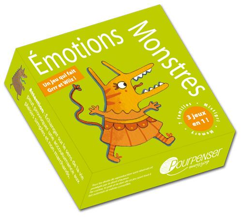 émotions monstres