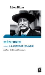 Vente EBooks : Mémoires suivi de à l'échelle humaine  - Léon Blum