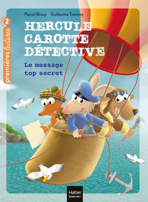 Vente EBooks : Hercule Carotte - Le message top secret CP/CE1 6/7 ans  - Pascal Brissy