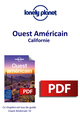 Ouest Américain - Californie  - Lonely Planet Eng