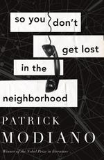 Vente Livre Numérique : So You Don't Get Lost in the Neighborhood  - Patrick Modiano