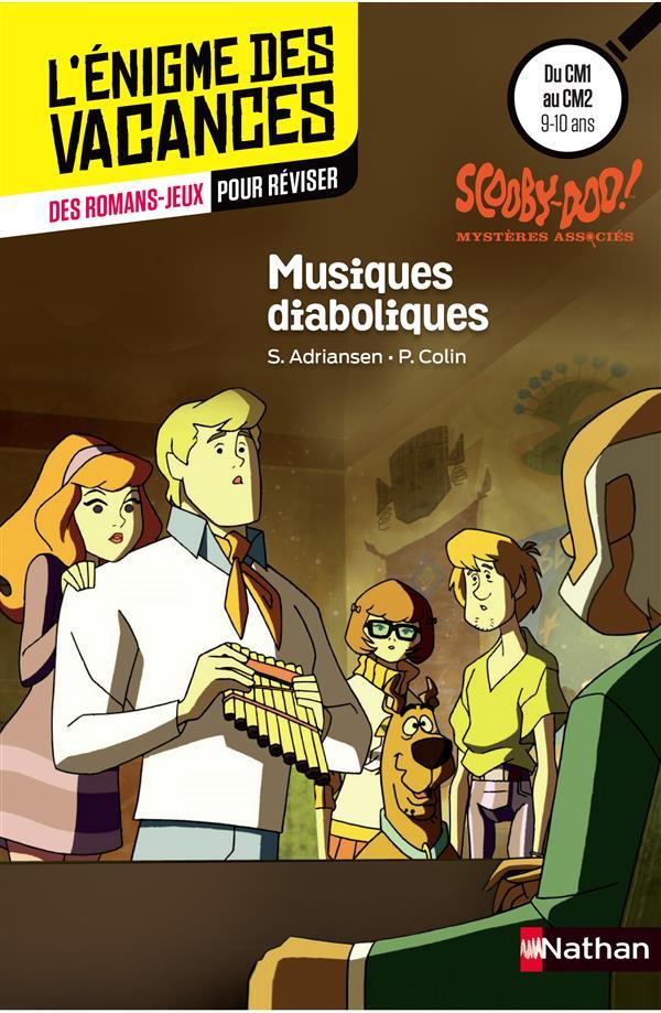 L'ENIGME DES VACANCES PRIMAIRE T.45 ; Scooby-Doo ; musiques diaboliques ; du CM1 au CM2