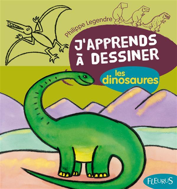 J'Apprends A Dessiner T.9; Les Dinosaures