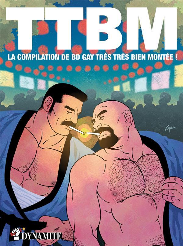 TTBM ; la compilation de BD gay très très bien montée !