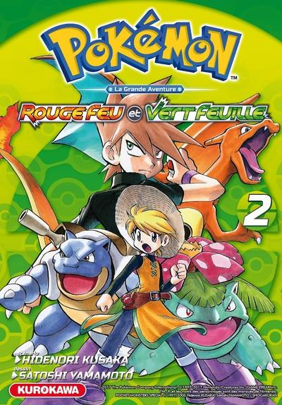 Pokémon ; la grande aventure - Rouge Feu et Vert Feuille / Emeraude T.2