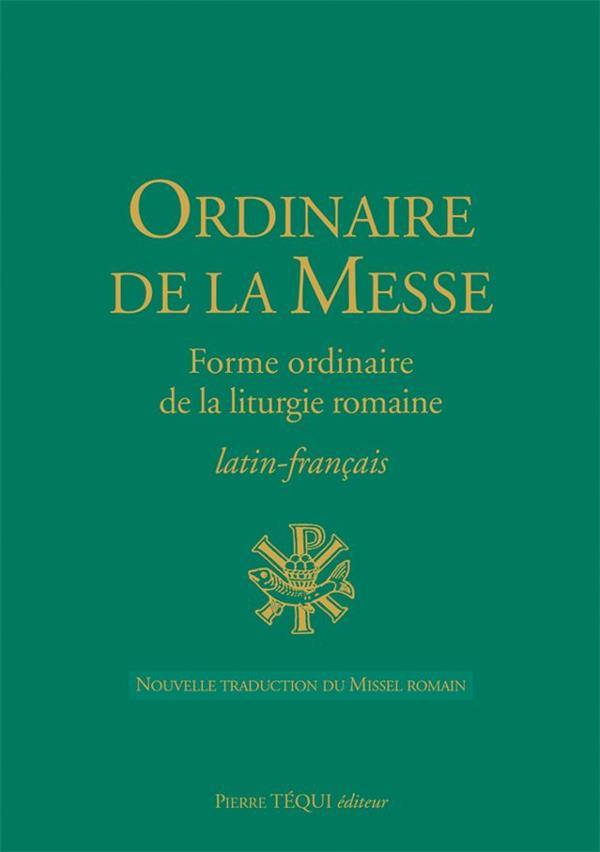 ORDINAIRE DE LA MESSE LATIN-FRANCAIS