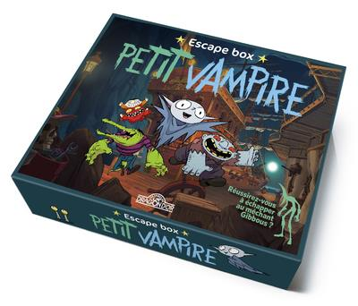 Petit vampire ; escape box