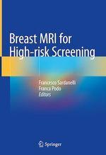 Breast MRI for High-risk Screening  - Franca Podo - Francesco Sardanelli