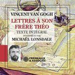 Vente AudioBook : Lettres à son frère Théo  - Vincent van Gogh